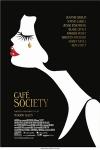 「Cafe Society」の英語のポスターの写真