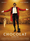 「Chocolat」の英語のポスターの写真