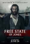 「Free State of Jones」の英語のポスターの写真