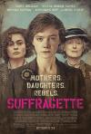 「Suffragette」の英語のポスターの写真